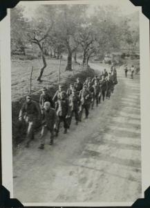 German Prisoners taken at the Volturno River