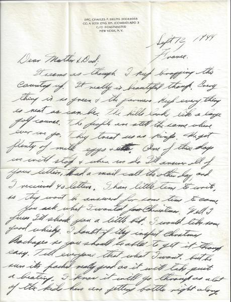 Letter Home