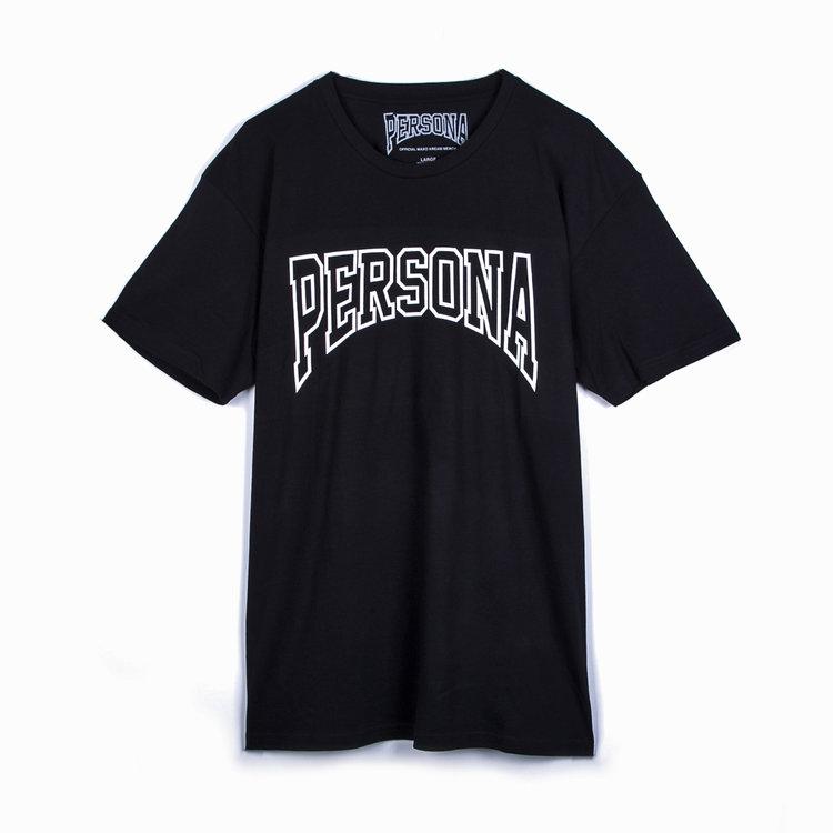 Persona Logo Black Tee