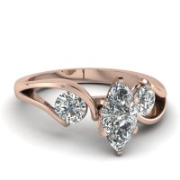 Rose Gold Engagement Rings: Rose Gold Engagement Rings ...