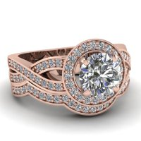 Wedding Rings Pictures: rose gold wedding ring sets