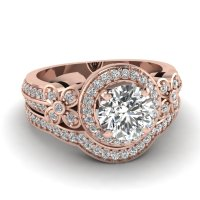 Wedding Sets: Rose Gold Wedding Sets