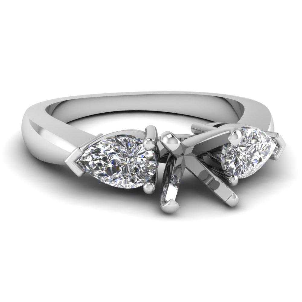 Wedding rings incredible beauty: Wedding ring semi mount sets
