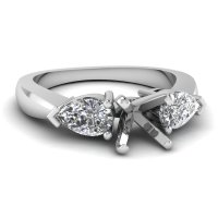 Wedding rings incredible beauty: Wedding ring semi mount sets