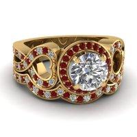 Recent trends of Stunning Big Diamond Rings Online