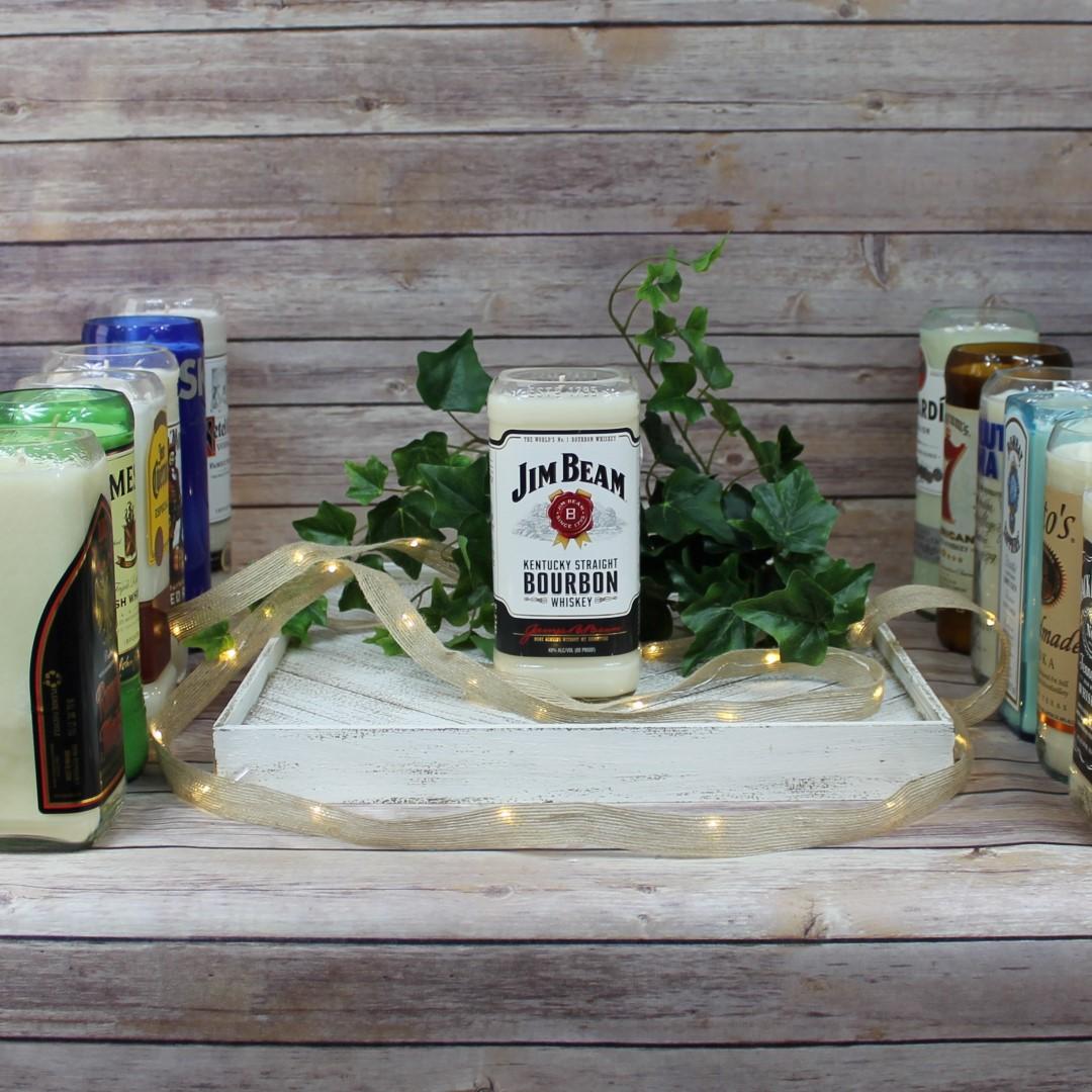 Jim Bean Kentucky Straight Bourbon Whiskey Liquor Bottle ...