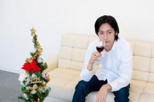 ワインを飲む
