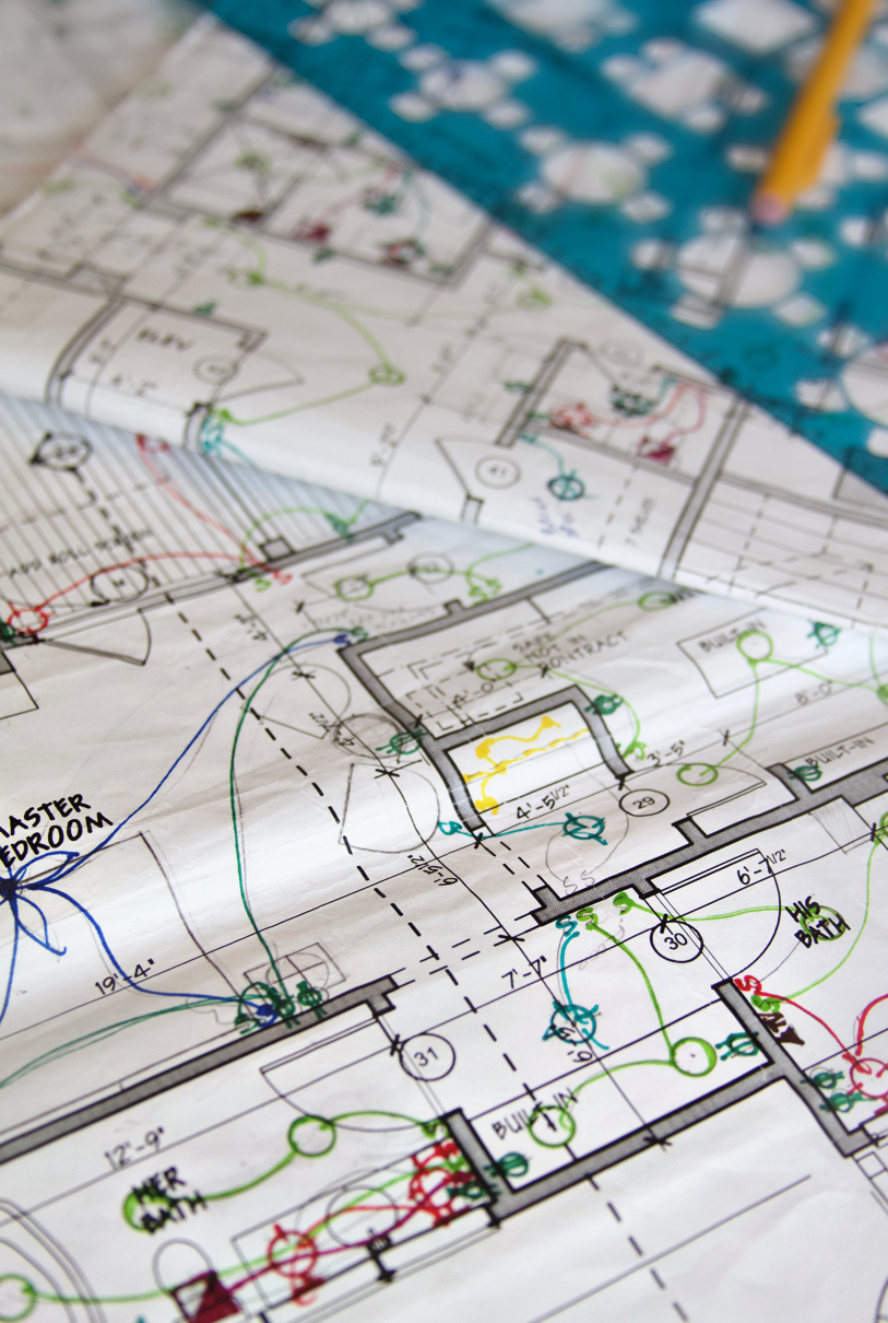 hight resolution of electrical plan