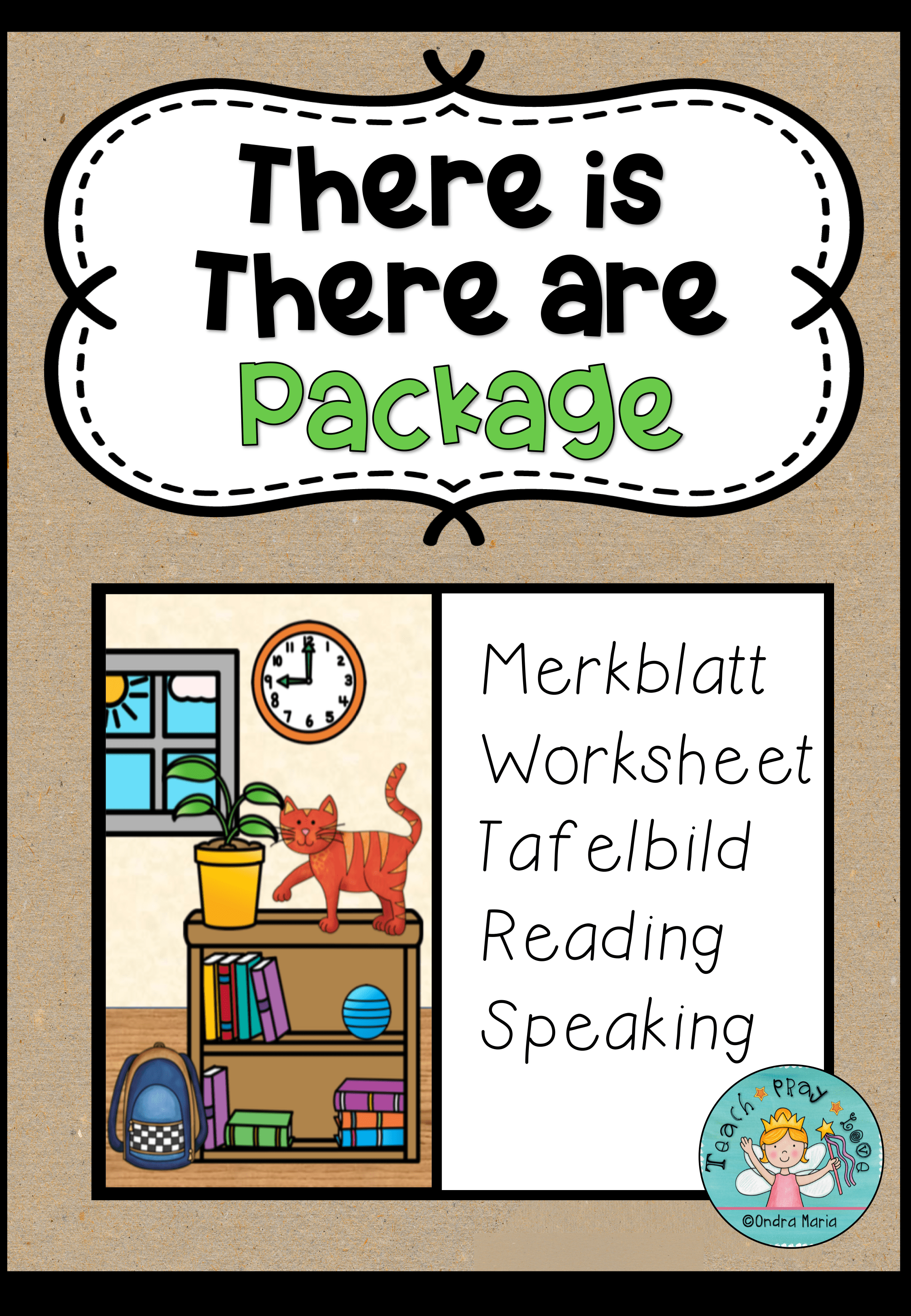 There Is There Are Merkblatt Worksheet Picture For