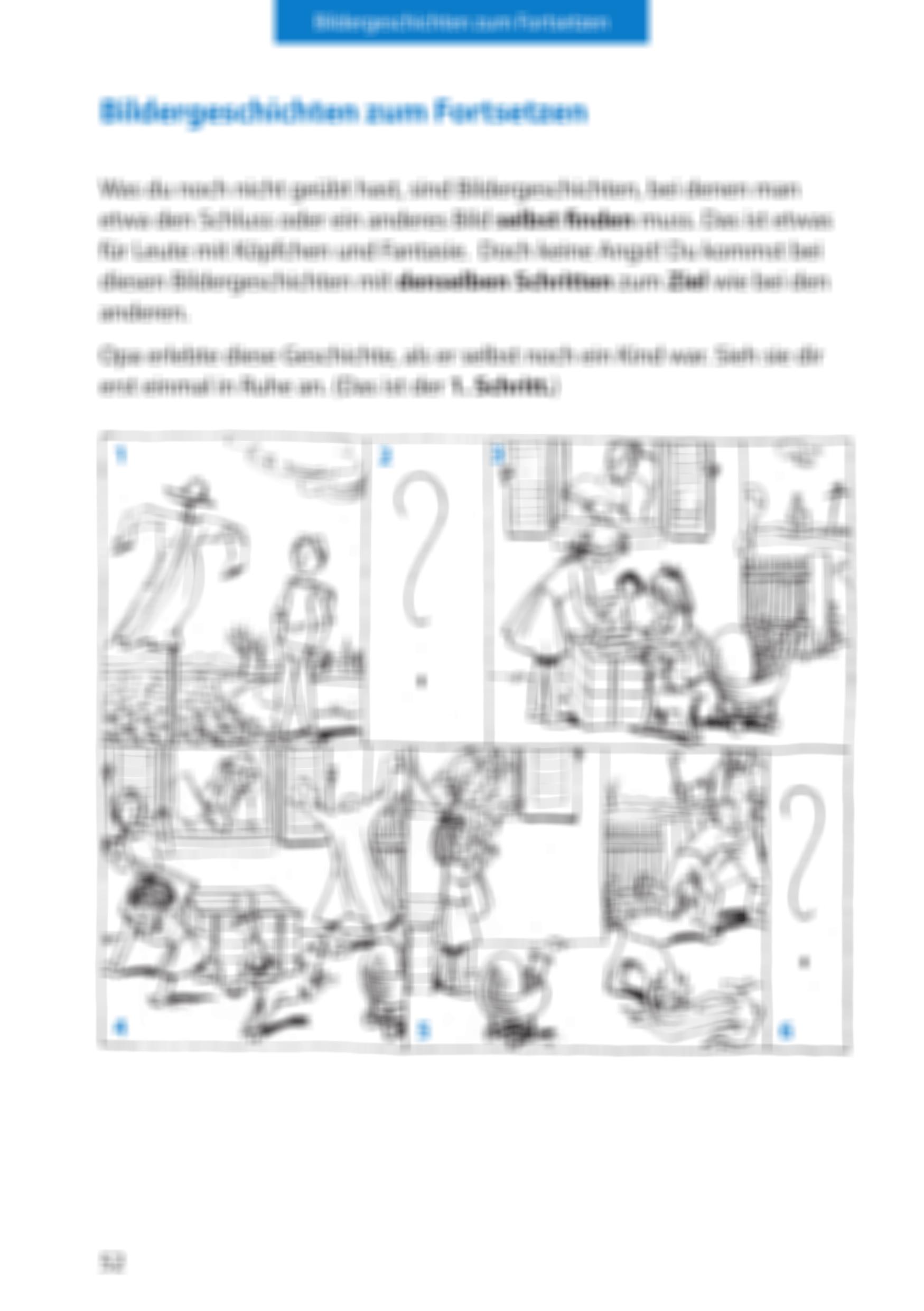 Bildergeschichte Klasse 20 Mit Musterlösung   Der kleine herr jakob ...