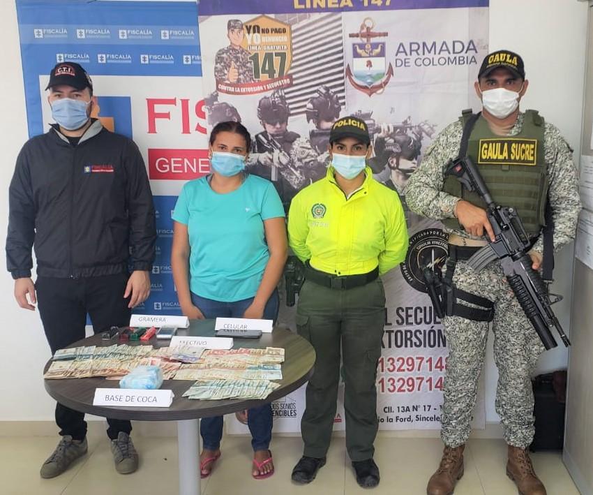 Sucre y Bolívar | Cinco capturados en tres operativos antiextorsión - Noticias de Colombia