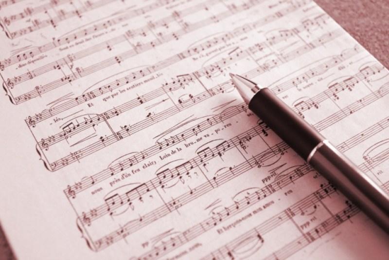 楽譜のイメージ画像