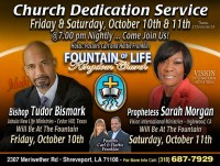 Calendar: Church Dedication Service