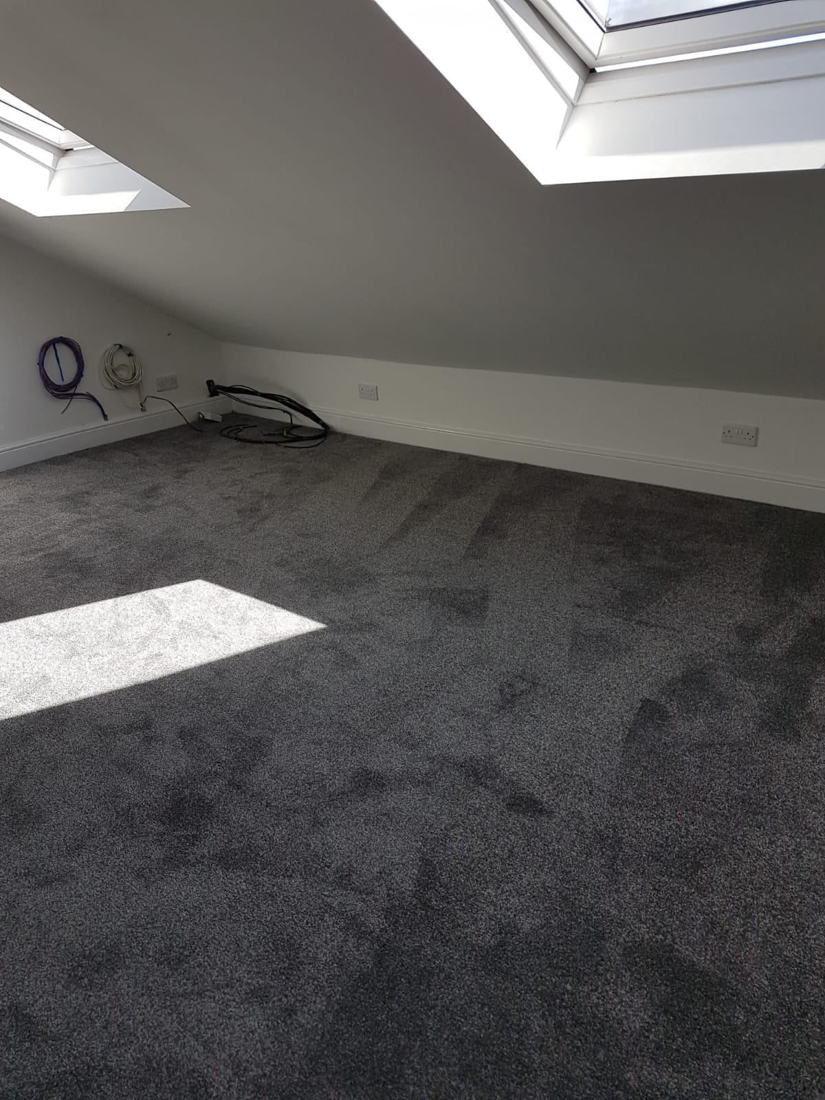 Salamanca 76 Iron Bedroom Carpet Installed In Dunstable Herts Carpets
