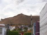 notice the cross en los sierros San Felipe
