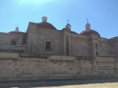 Mitla-a cathedral built over an ancient temple