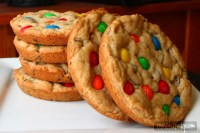 XXL M&M Chocolate Chip Cookies - Tried and Tasty