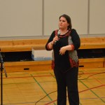 Feigh speaks about child safety.