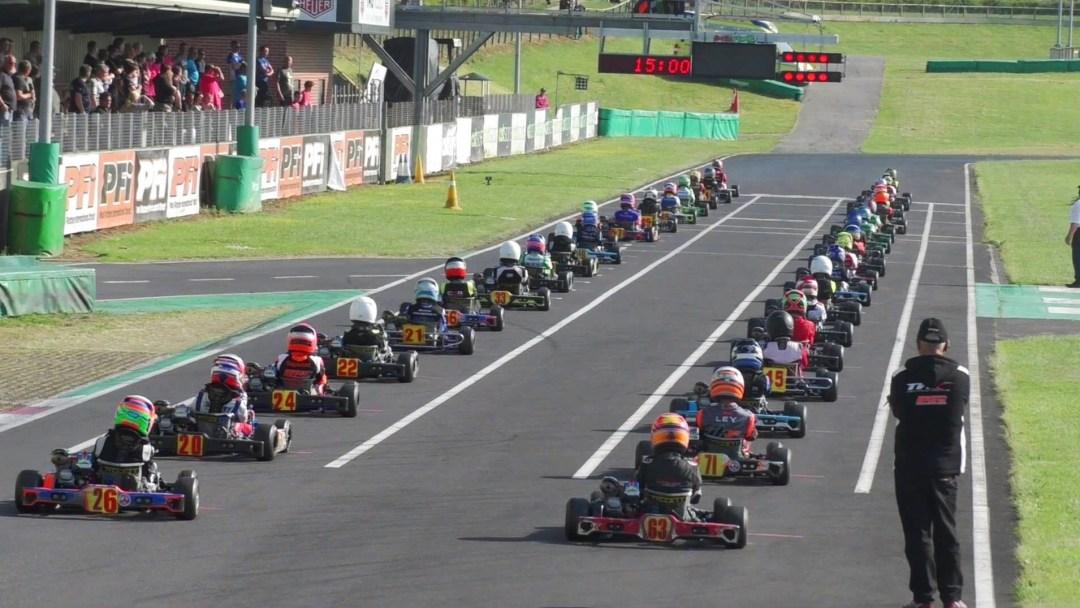 Honda cadet grid at PFI