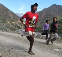 Tarahumara Indians Running Women