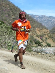 Tarahumara Running Woman