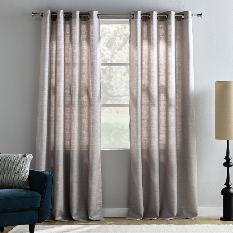 odell sheer curtain pair 140x240 cms