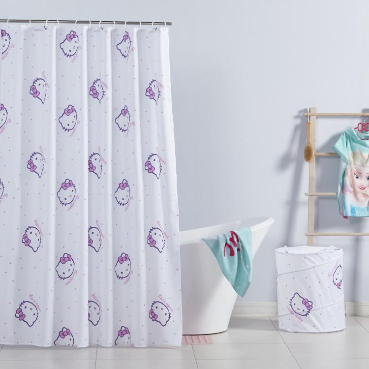 hello kitty shower curtain 200x100 cm