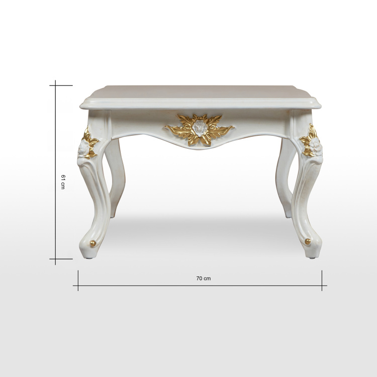 versailles coffee table with 2 end tables