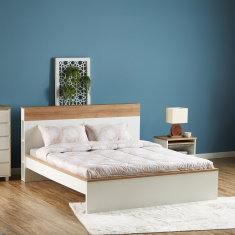 octon king bed with headboard storage 180x210 cm