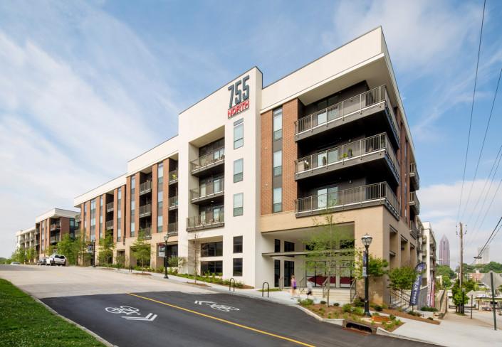 Luxury Apartments In Atlanta Midtown  755North Apartments