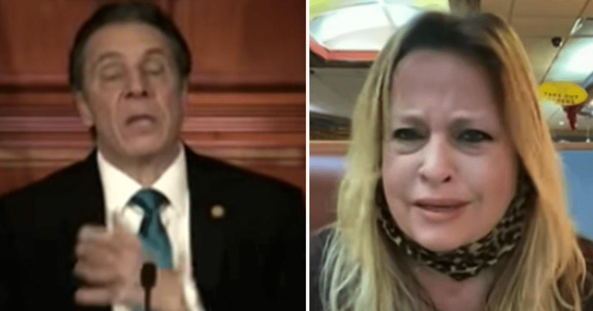 """WATCH: Owner of NY Diner says Cuomo has been a """"disaster"""""""