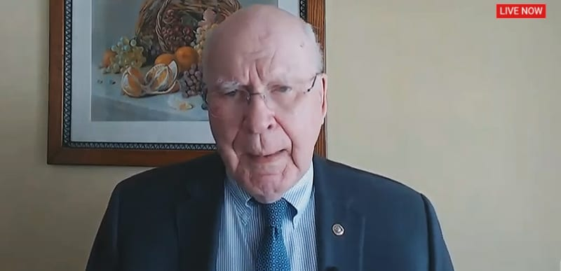 WOW: Democrat Patrick Leahy accidentally reveals a LOT during Capitol Riot hearing, names ANTIFA