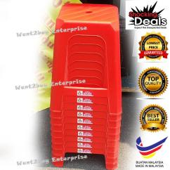 Plastic Stool Chair Malaysia Hanging The Range 3v Strong (end 3/5/2018 4:15 Pm)