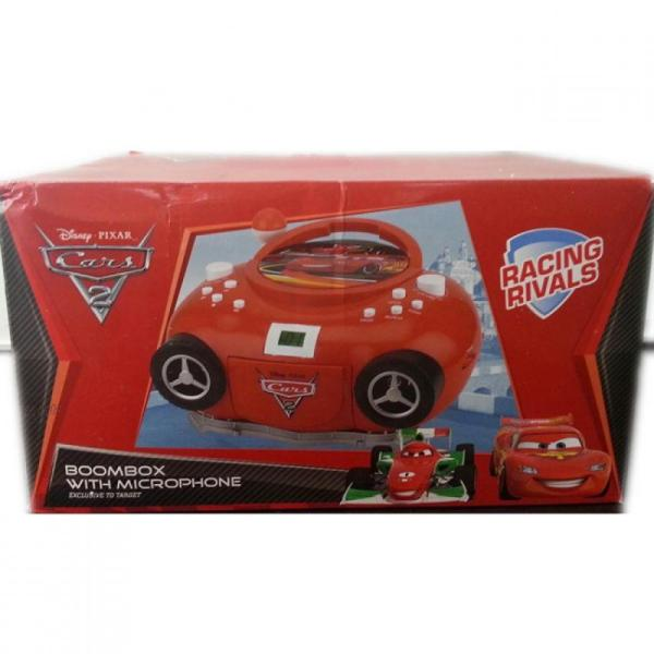 Disney Cars Boombox with Microphone