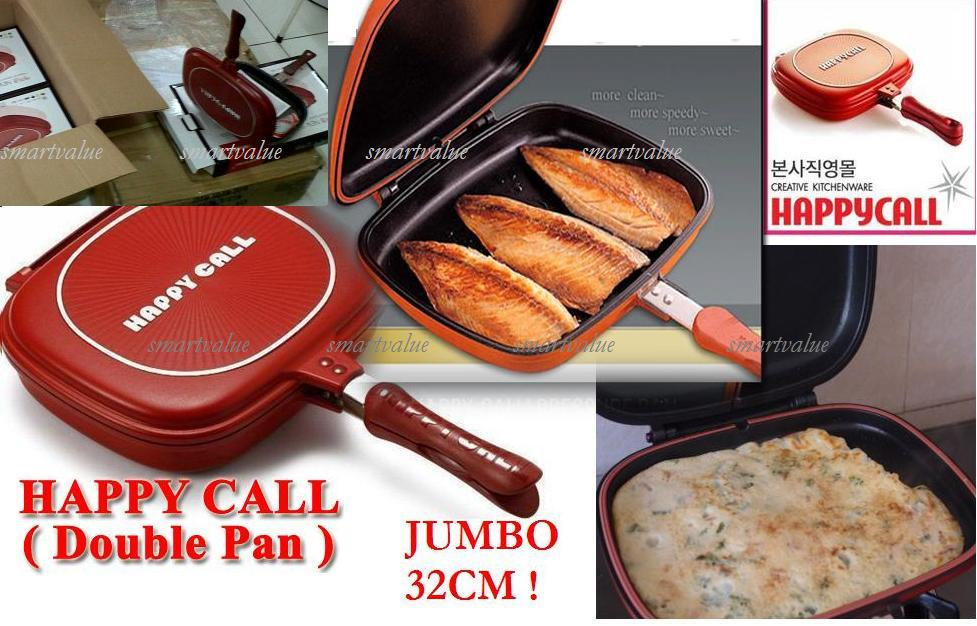 Happy Call Non Stick Double Sided Fr (end 12/4/2017 5:19 AM)