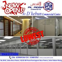 OFFICE PARTITIONS FOR SALE (end 4/5/2017 12:48 PM - MYT )