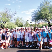 Seven teams gathered in Quail Creek for the interclub finale.