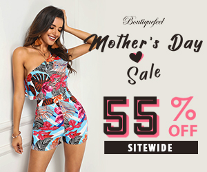 Happy mother's day,55% OFF sitewide,Free standard shipping on orders over $59+