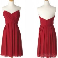 Red Homecoming Dress,Chiffon Homecoming Dresses,Casual ...