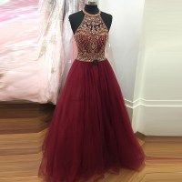 Burgundy Prom Dresses,Wine Red Prom Dresses,Formal Gown ...