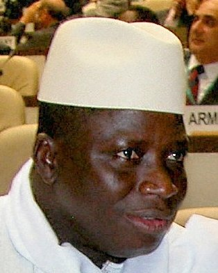 Gambia President Yahya Jammeh (Photo courtesy of WIki Commons)
