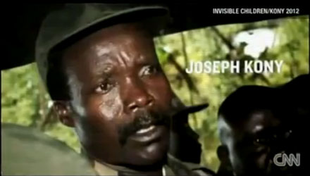 Joseph Kony, as shown on Invisible Children video