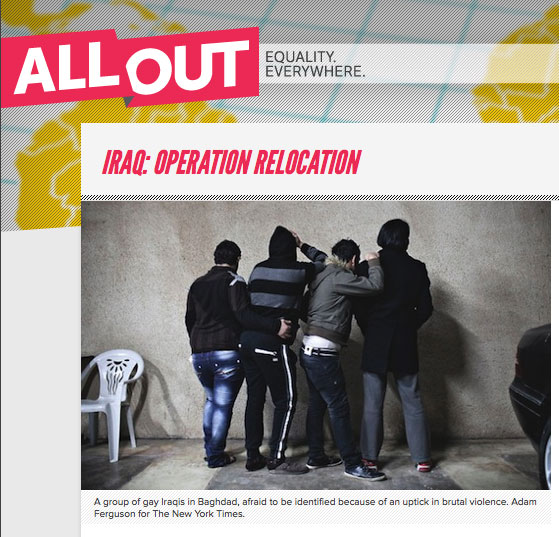 AllOut's Iraq appeal