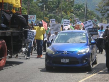 """Love March"" in Jamaica (Photo courtesy of AntiGayFactCheck.org)"