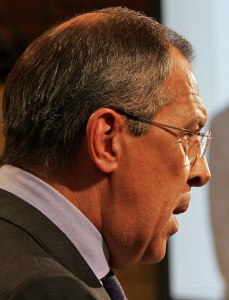 Sergei Lavrov, Russian foreign minister (Photo by Kai Mork via Wikimedia Commons)