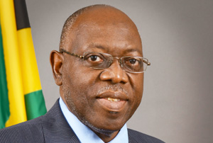 Dr. Fenton Ferguson, Jamaica's minister of health.