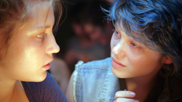 "Scene from ""Blue is the Warmest Color"" (""La vie d'Adèle"")"