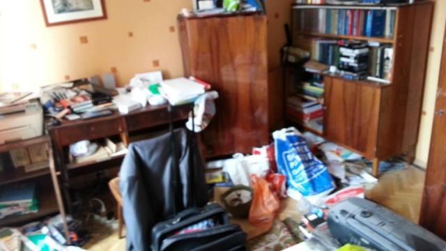 Nikolai Alekseyev's apartment after the police raid. (Photo courtesy of Nikolai Alekseyev via Facebook)