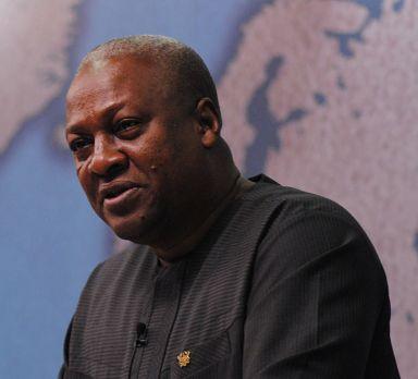Ghana President John Dramani Mahama (Photo courtesy of Wikimedia Commons)