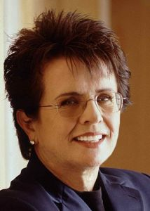 Billie Jean King in 2011 (Photo courtesy of Wikimedia Commons)